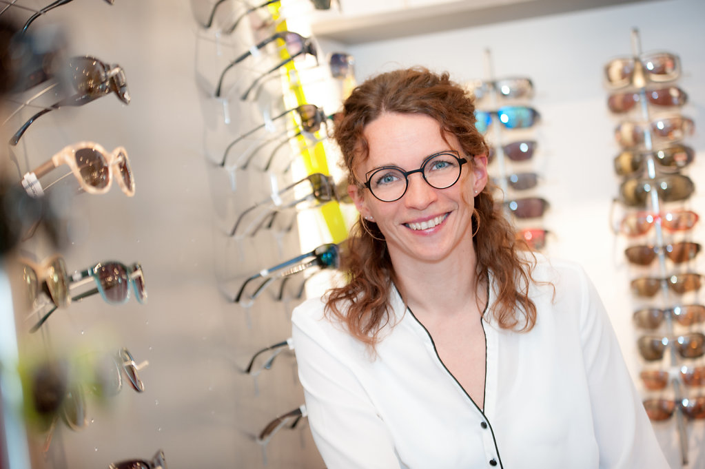 Mitarbeiterportraits Optiker Fesser Straubenhardt